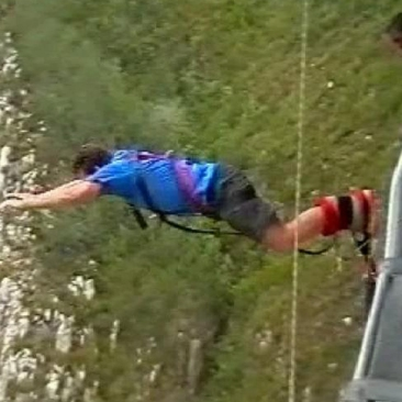BIlls big bungee jump