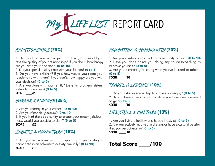 MLL Report Card