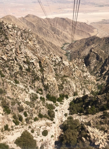to the view of the valley below us, San Jacinto Mountain brought the extremes of California together.